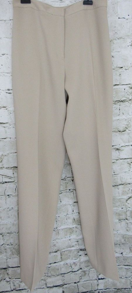 be2e7d5387 Casual Corner Pants Women's Lined Front Zip Size 8 #fashion ...