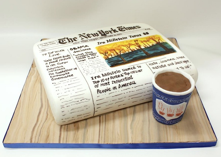 The New York Times Cake — Of course!