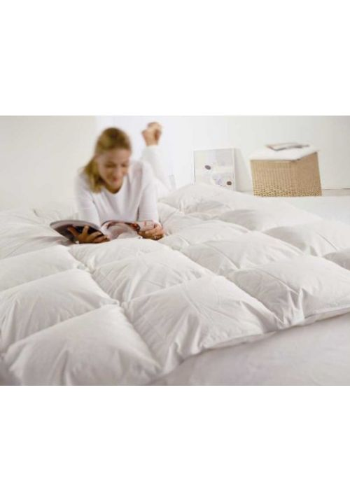 ANTI ALLERGY BEDDING - ALPS - SIRIUS DUN DOWN DUVET - 135 CM X 200 CM Down Duvet- Alps - Sirius Dun is simply the best on the market. This duvet is made of 60 % European Down and 100% Dust Mite Proof cotton fabric. Embedded with a Duck Down material, the duvet Alps offers more warmth. It never gets too cold or too warm, thus leading to very pleasant sleep.