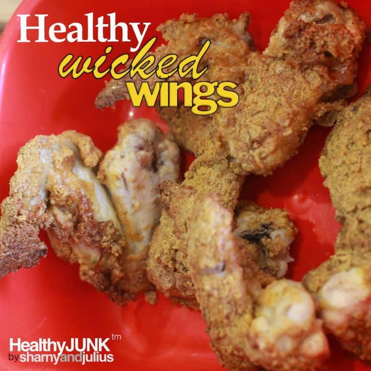 A healthier version of KFC Wicked Wings that you can cook at home! | Sharny and Julius