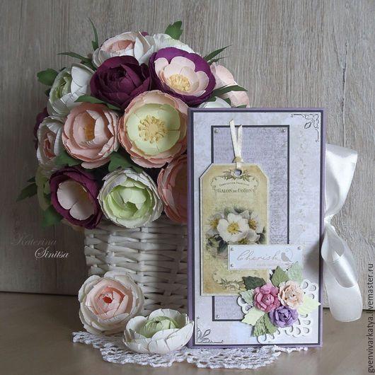The envelope present box for little gift. Spellbinders dies Sinitsa_art