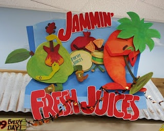 One of Pam Tanzey's fun art signs at Trader Joes