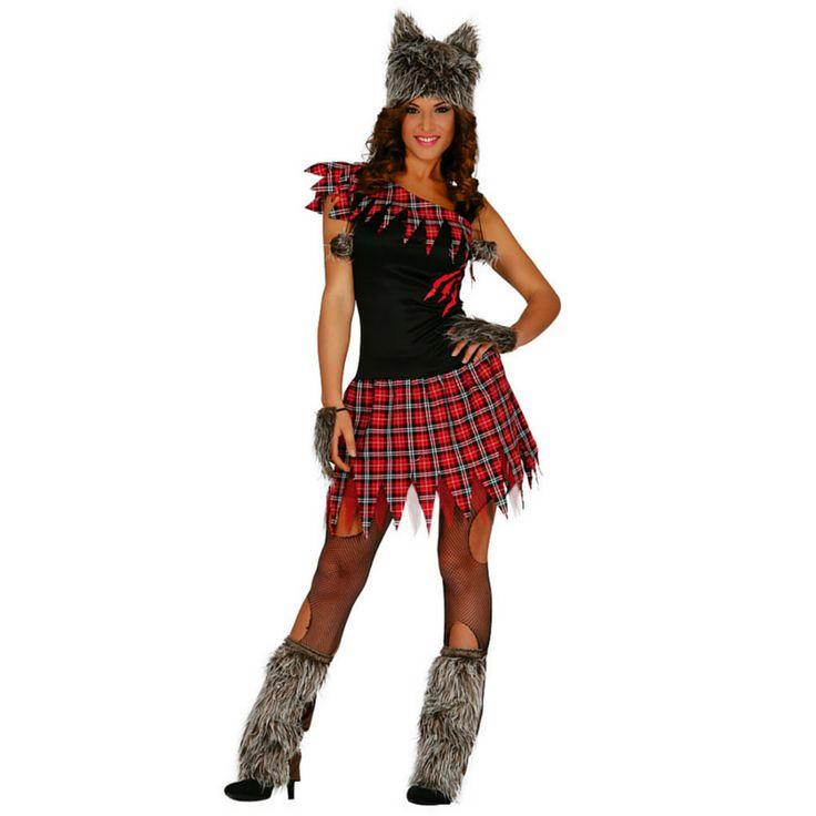 Disfraz de Loba Escocesa #disfraces #carnaval #novedades2015