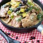 Fläskfilégryta med porter och svamp - Recept från Mitt kök - Mitt Kök | Recept | Mat | Bloggar | Vin | Öl