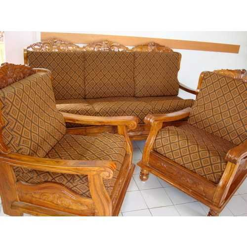 Carpenter Teak Wood Sofa Set Designs Pictures In 2020 Wooden Sofa Set Sofa Design Wood Wooden Sofa Set Designs