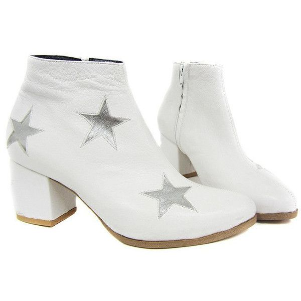 Star Boots Glam Boots Bowie (16.080 ARS) ❤ liked on Polyvore featuring shoes, boots, rubber sole boots, glitter high heel shoes, platform shoes, glitter shoes and high heel shoes
