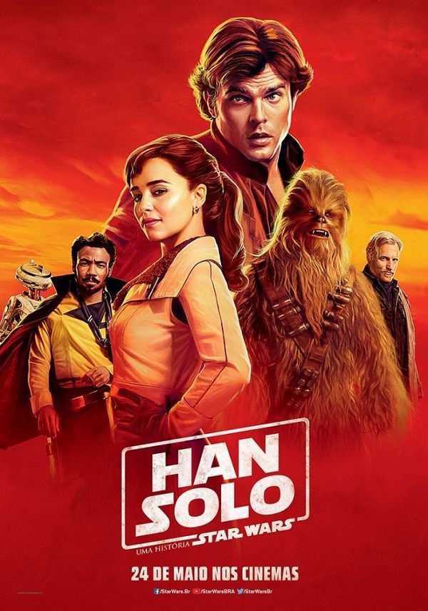 "NEW ""Solo: A Star Wars Story"" International Posters Released"