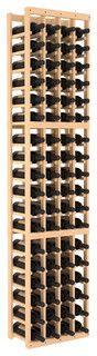 4 Column Standard Wine Cellar Kit in Pine, (Unstained) Pine - contemporary - wine racks - by Wine Racks America