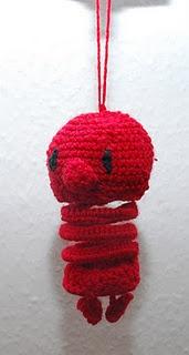 Hæklemist (opskrift af http://olineart.blogspot.dk)