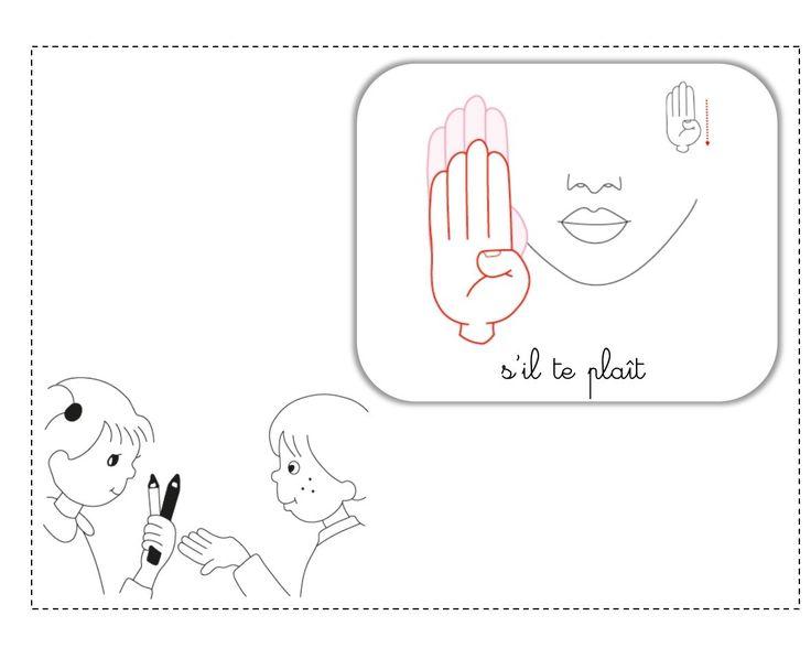 s'il te plaît LSF illustration
