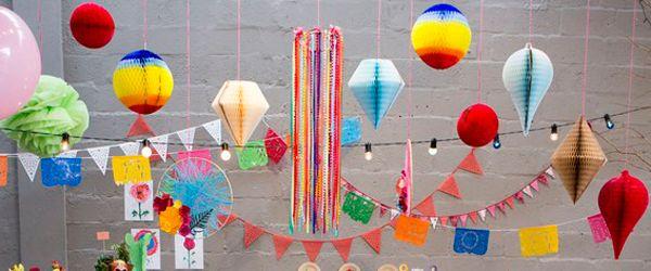 Um post com muitas ideias de decoração pra festa junina sem perder o bom gosto!