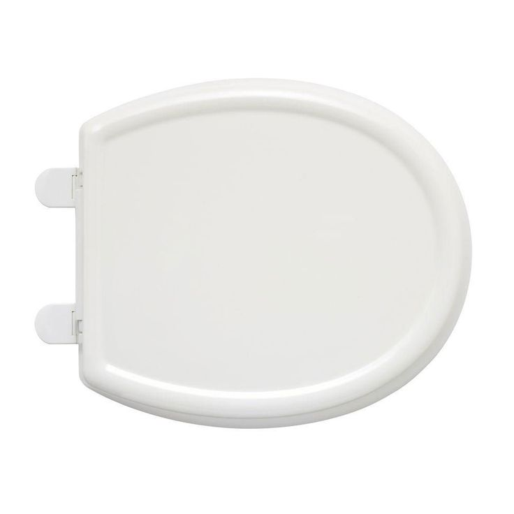 American Standard 5345.110.020 Cadet-3 Round Front Slow Close Toilet Seat with EverClean Surface, White 446557