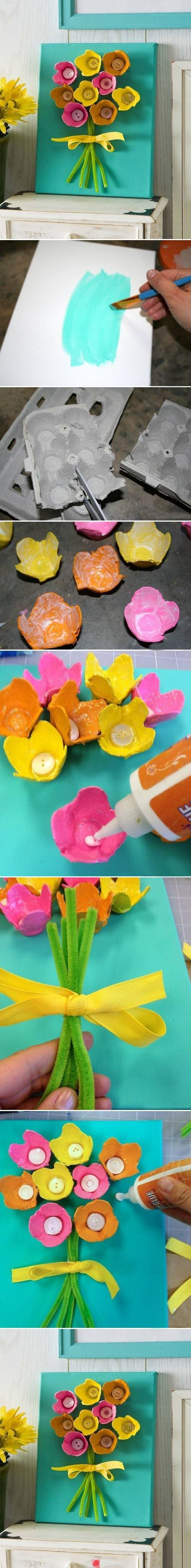 Creativas manualidades con cartón de huevos | Aprender manualidades es facilisimo.com