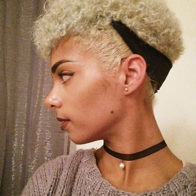 Top 100 twa hairstyles photos #blonde #twahair #twahairstyles #bleachedhair #blondehair #twa #shortafrohair See more http://wumann.com/top-100-twa-hairstyles-photos/
