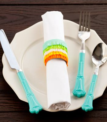 Fringed Fiesta Napkin Ring: Link goes live Monday, April 28th!