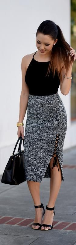 Shein Top and Skirt / Fashion Look by Jessica Ricks #fashion