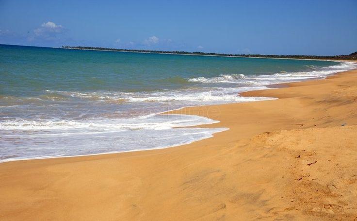 Praia de Arakakai em Cabrália