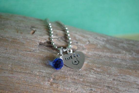 Police Sister Necklace by MaddieStrongStudios on Etsy