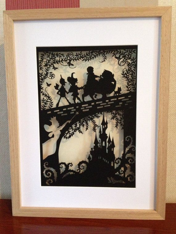 The Wonderful Wizard of Oz JPEG FIle - cut your own papercut - perfect handmade gift!