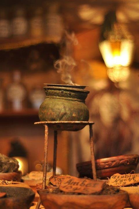 Incense burner. Fascinating little pot!