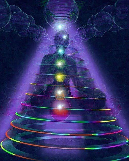 Full Spectrum Rainbow Frequency in constant circulating waves within and without the body...