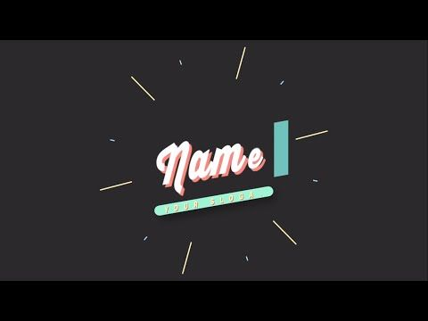 Best 25 after effects intro templates ideas on pinterest after top 10 free 2d intro templates 2016 blender sony vegas adobe after effects pronofoot35fo Images