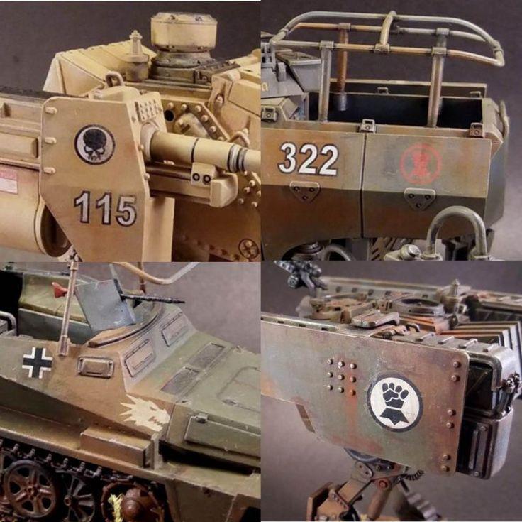 Figurkowy Karnawał Blogowy XXIII..., czyli 3 SYMBOLE AXIS w Dust 1947