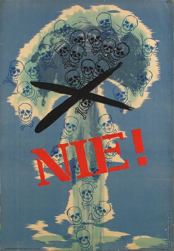 Anti war poster - NO! - 1961  Grafický dizajn   Web umenia