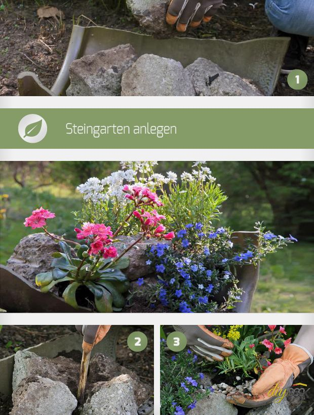 Pflegeleichten Garten Anlegen Und Genießen :  und beet de für einen steingarten eignen sich hügel und hang 24 2