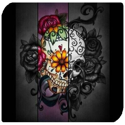 sugar skull design