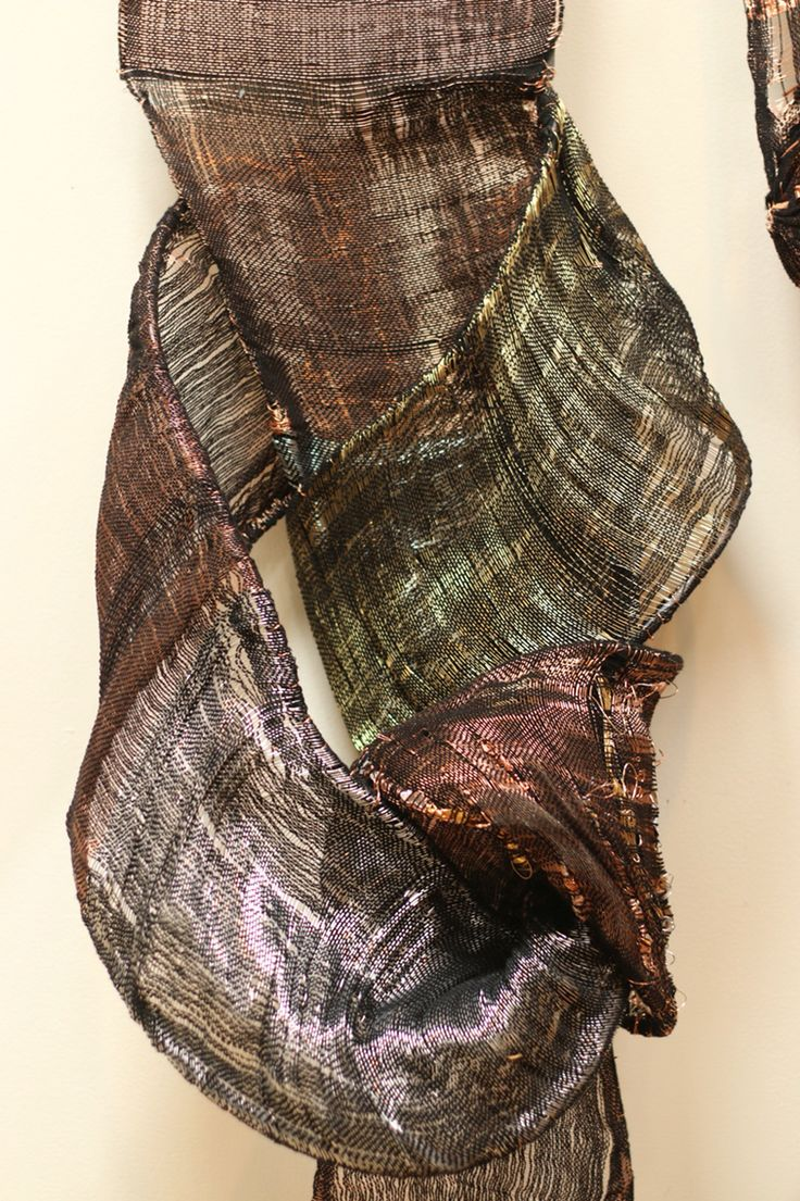 Textile Artist, Elise Vazelakis'  woven steel, copper, brass and fiber work has been exhibited in New York, San Francisco, Chicago, Dubai and Saudi Arabia. www.elisevazelakis.com