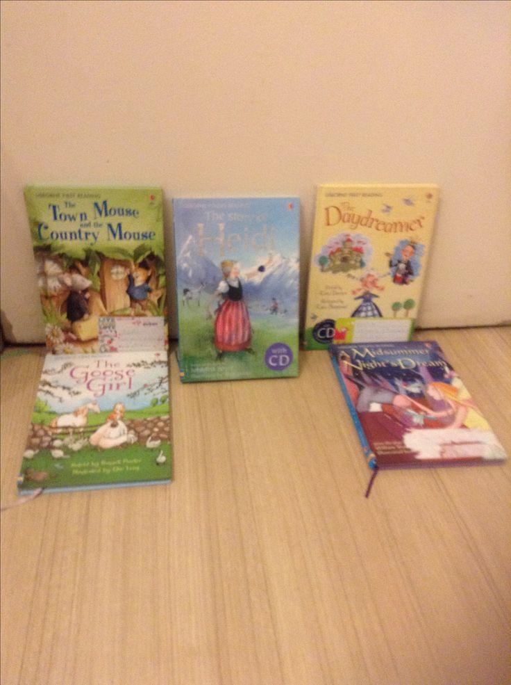 Libros de usborne first reading