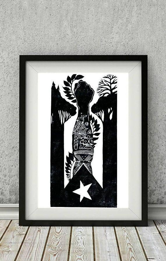 Cuba Flag, Cuban Art Print, Havana Cuba Art, Cuban Flag, Cuban Gift ...