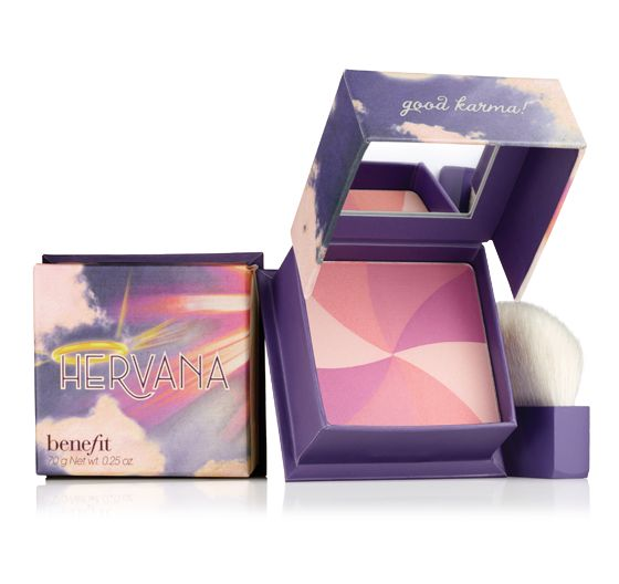 Everyday that I put this blush on the scent alone makes me happy.... the light pink flush just is the cherry on the sundae.  http://www.benefitcosmetics.com/product/view/hervana#