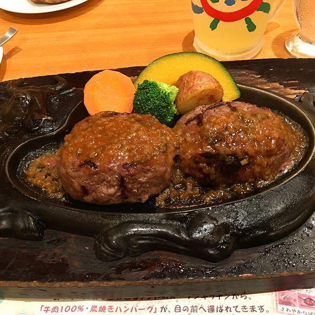 今日の夕ごはんは食べたかったハンバーグ!大人気のさわやか!90分待ったけど、おいしかったな〜😌😋😍 #夕ごはん #夕ご飯 ##dinner #ハンバーグ #ファミレス #おいしい #肉 #meet #静岡 #御殿場 #さわやか #さわやかハンバーグ #最高 #ごちそうさまでした