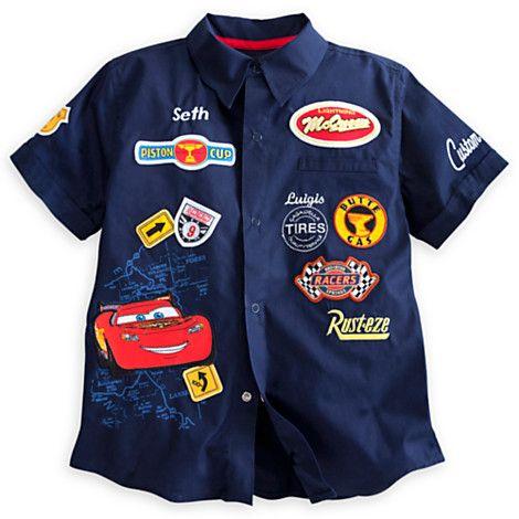 Cars Woven Shirt