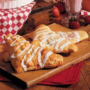 Quick Cherry Turnovers - Would also be good with apple filling.