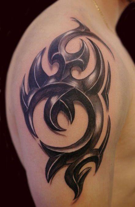 1000 ideas about tatuajes de la manga tribal en pinterest - Dibujos tribales para tatuar ...