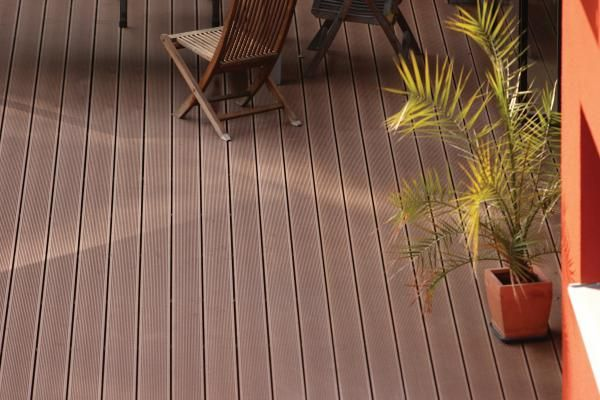 #recycled plastic wood park bench construction terrasse wood plastic composite flooring