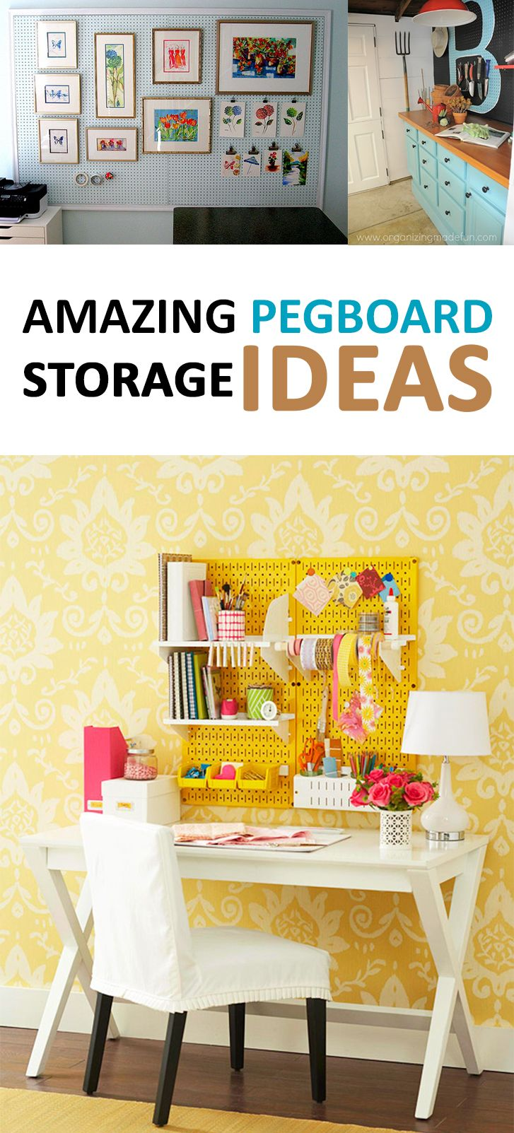45 best craft storage images on pinterest good ideas for Do it yourself home organization