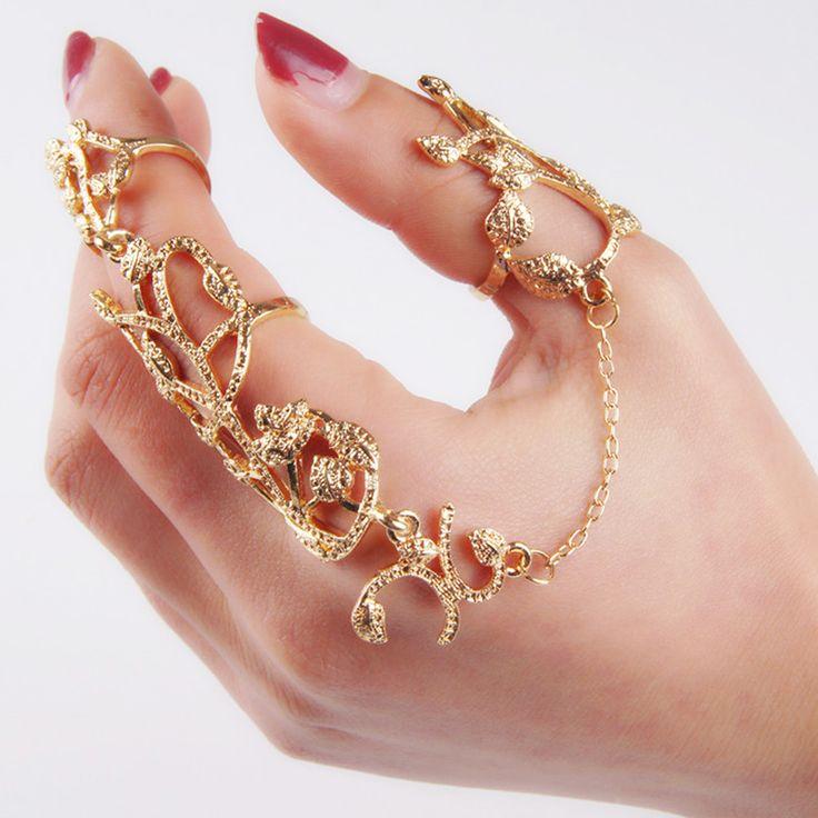 Best 25+ Full finger rings ideas on Pinterest | Claw rings ...