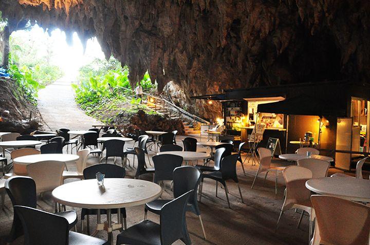 鍾乳洞の中にカフェ!? 「CAVE CAFE」 - 沖縄CLIP