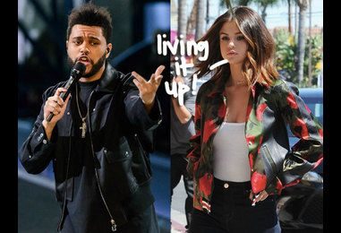 Selena Gomez & The Weeknd Show No Signs Of Slowing Down In Buenos Aires!