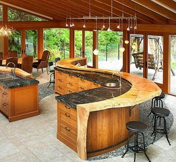 21 Most Unique Wood Home Decor Ideas: 17 Best Ideas About Wooden Bar Table On Pinterest