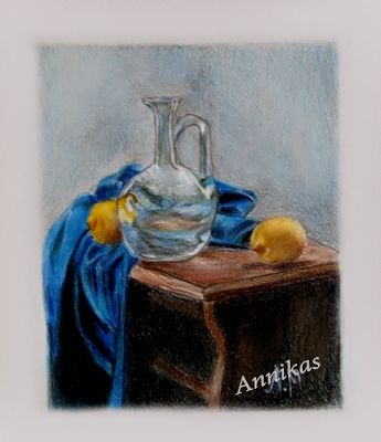 Colored pencil-                            Αννίκας..... δια χειρός: Ζωγραφική  με μολύβι (16)
