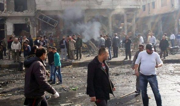 2 ataques en Siria deja al menos 57 muertos