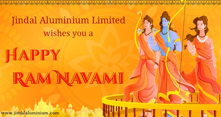 Celebrate the birth of Lord Ram this Sri Rama Navami with pomp and gusto! Jindal Aluminium Limited wishes you all a very happy Rama Navami. May Lord Ram bless you with happiness, joy and prosperity!