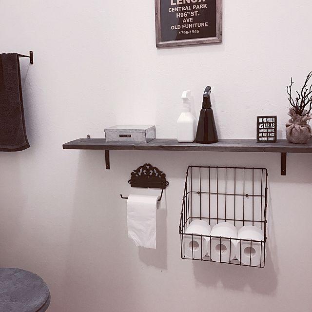 みなさんのトイレは「見せる派」「隠す派」、どちらの収納スタイルですか?限られたスペースであるトイレは、収納方法にも悩み多きところ。RoomClipユーザーさんは、そんな悩みをどう解消されているのでしょうか。今回はさまざまな「見せる収納」に注目して、ユーザーさんのトイレインテリアを堪能してみましょう♪