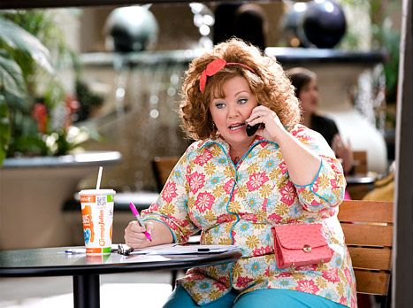 "Melissa McCarthy in ""Identity Thief"".  I will see any movie with her in it!"