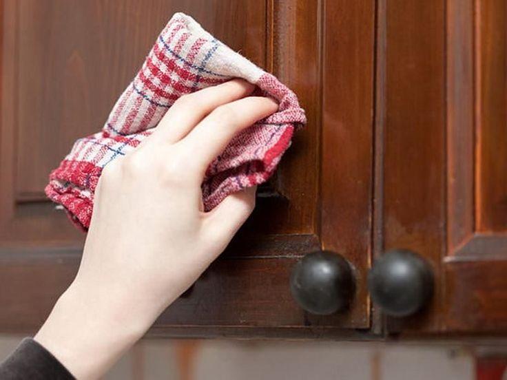 5 быстрых способов очистить кухонные шкафчики от жирного налета. Сама готовлю много, поэтому применяю регулярно